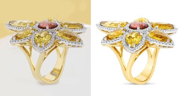 jewelry photo editing